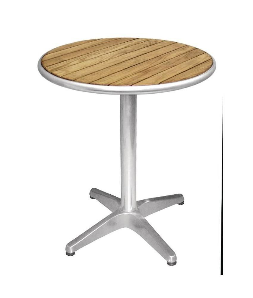 Bolero Bolero ronde tafel met essenhouten blad 60cm