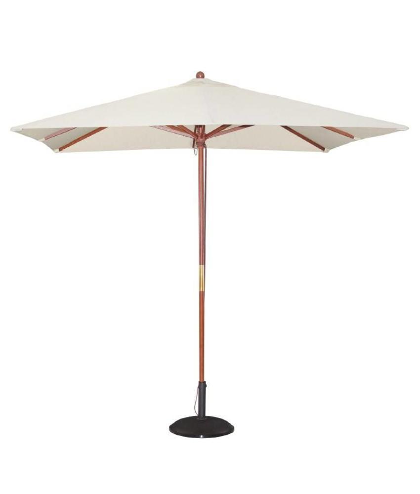 Bolero Bolero vierkante crème parasol 2,5 meter