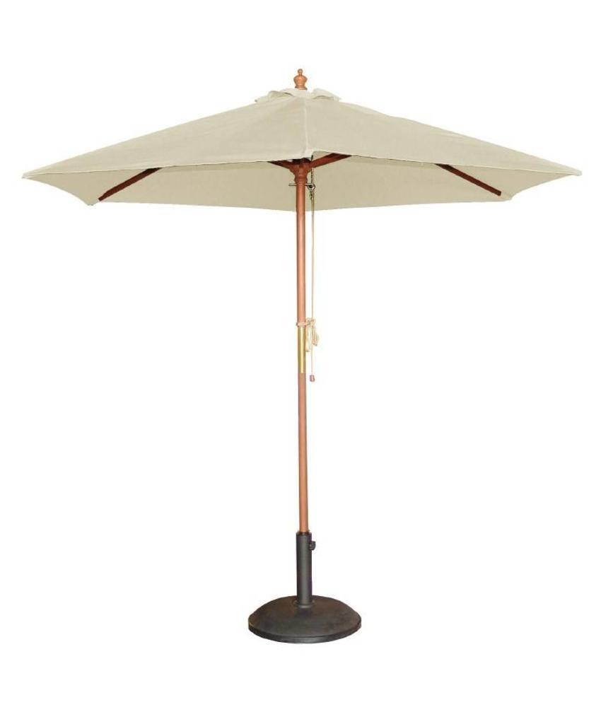 Bolero Bolero ronde crème parasol 2,5 meter