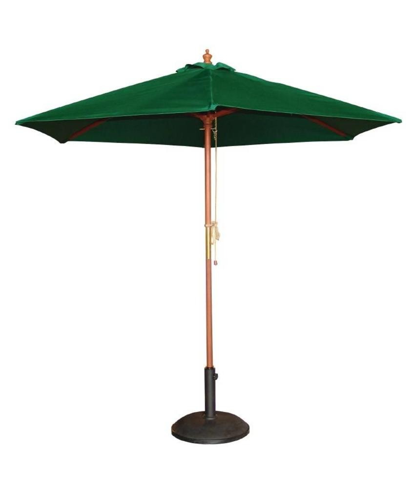 Bolero Bolero ronde groene parasol 2,5 meter