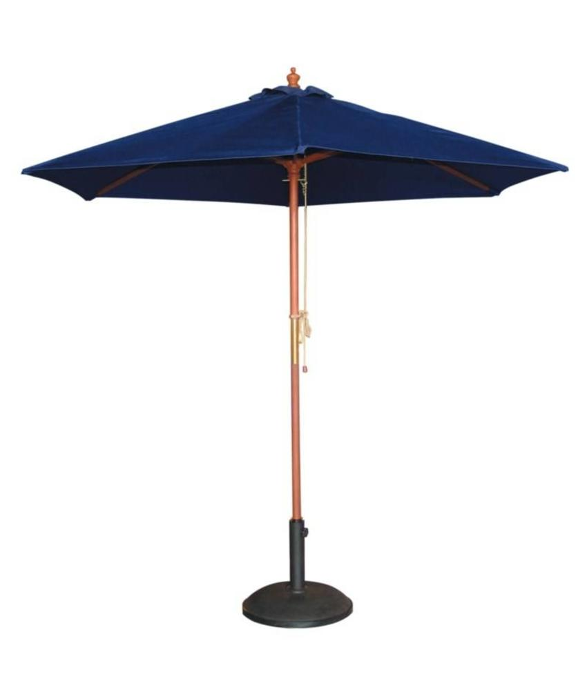 Bolero Bolero ronde donkerblauwe parasol 3 meter