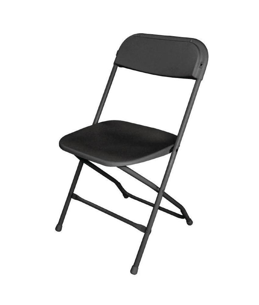Bolero Bolero opklapbare stoel zwart (10 stuks) 10 stuks