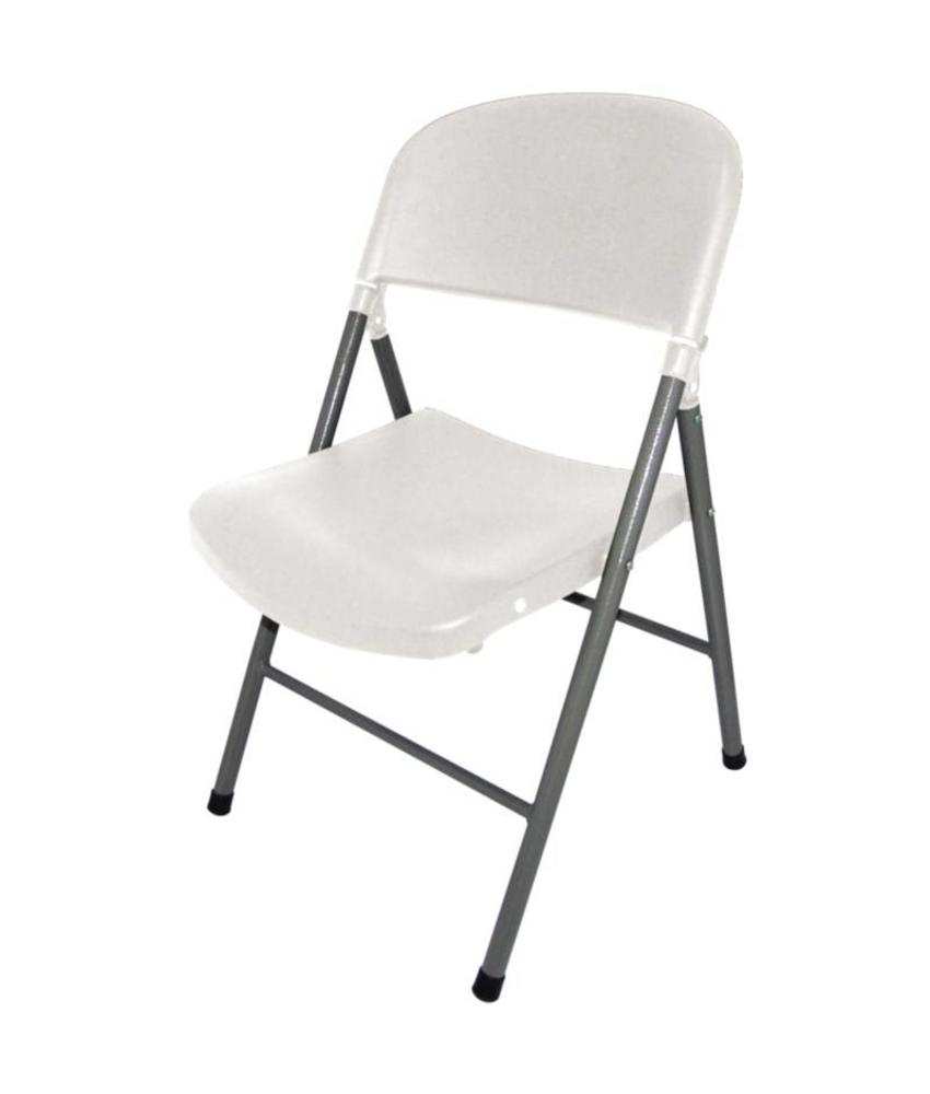 Bolero Bolero opklapbare stoelen wit (2 stuks) 2 stuks