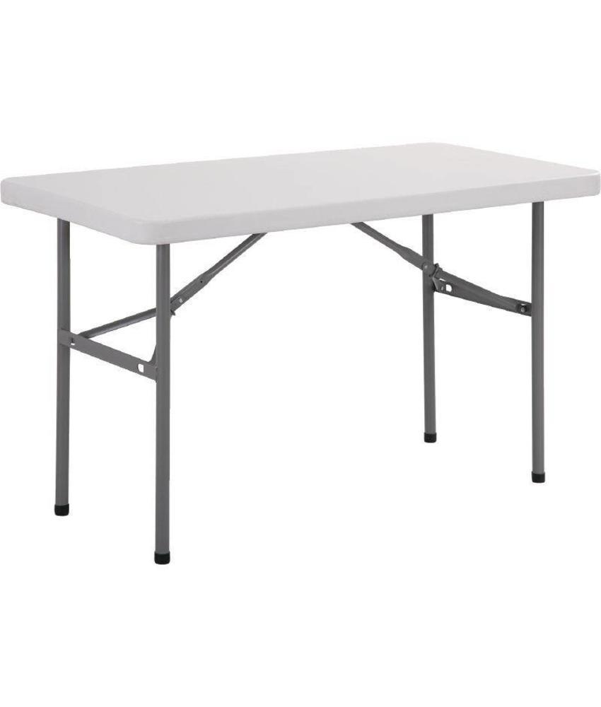 Bolero Bolero rechthoekige inklapbare tafel 1,22m