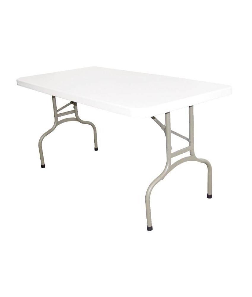 Bolero Bolero rechthoekige inklapbare tafel 1,52m