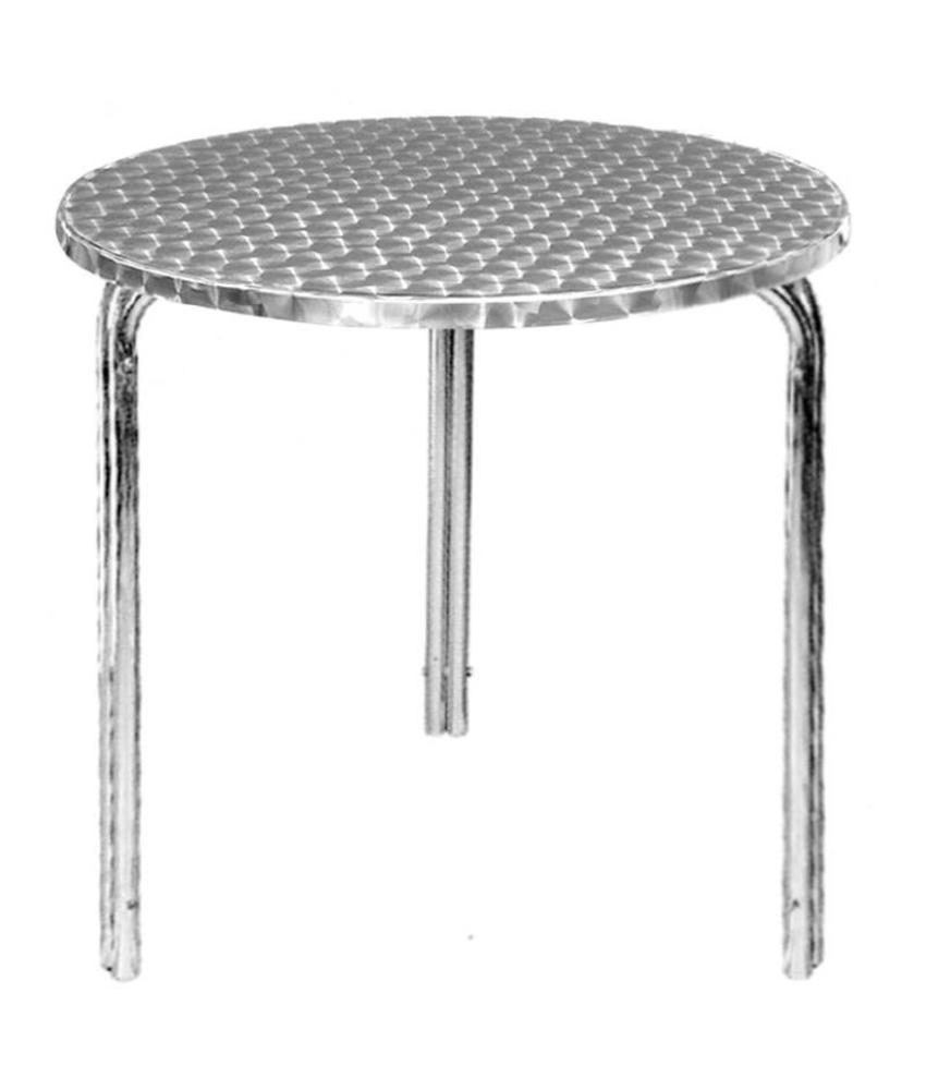 Bolero Bolero ronde stapelbare RVS tafel 60cm