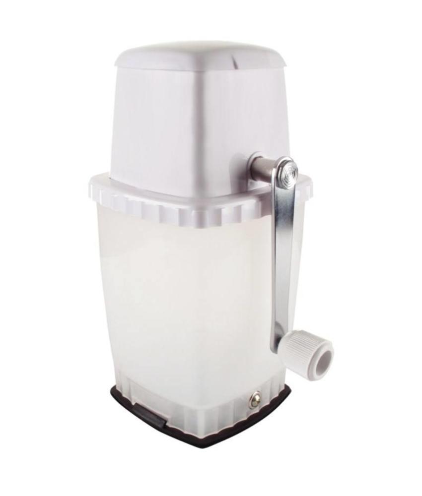 Beaumont IJscrusher met vacuümbasis wit