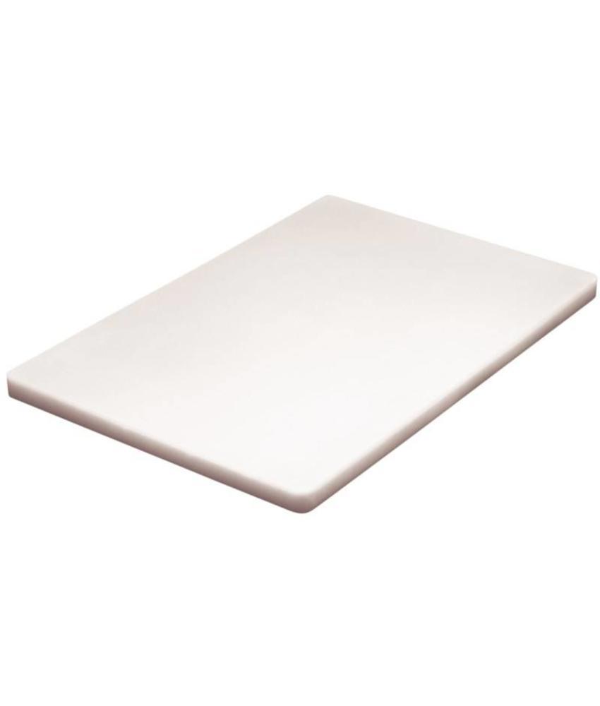 Hygiplas Hygiplas kleurcode lage dichtheid snijplank 2x45x30cm wit