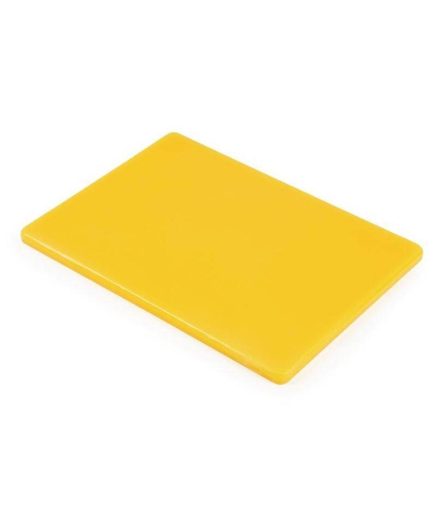 Hygiplas Hygiplas snijplank klein geel
