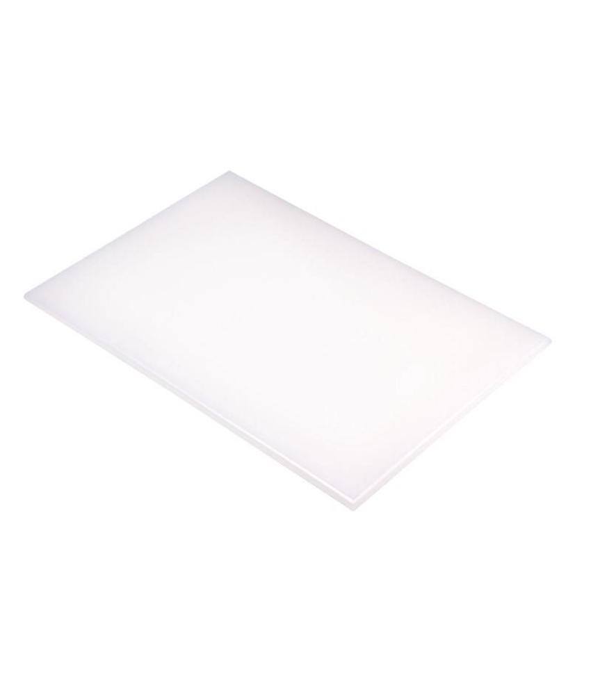 Hygiplas Hygiplas kleurcode snijplank wit 600x450x12mm