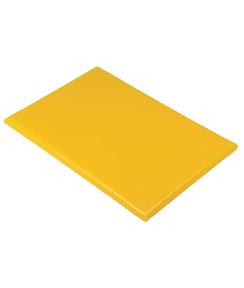Hygiplas Hygiplas kleurcode snijplank geel 25mm
