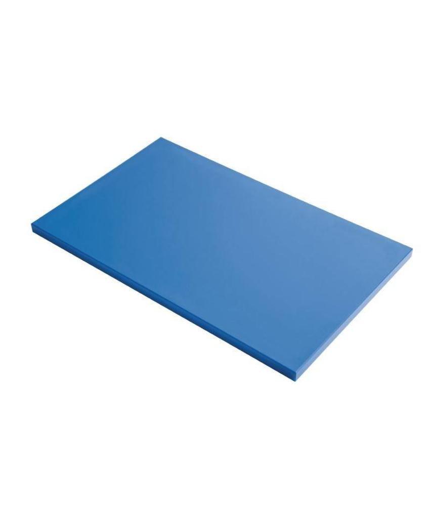 Gastro M Gastro M GN1/1 HDPE snijplank blauw 15mm