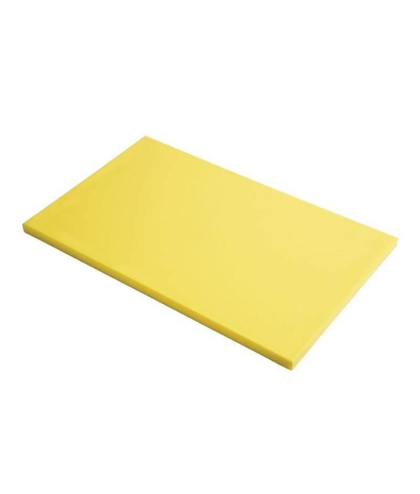 Gastro M Gastro M GN1/2 HDPE snijplank glad geel 15mm