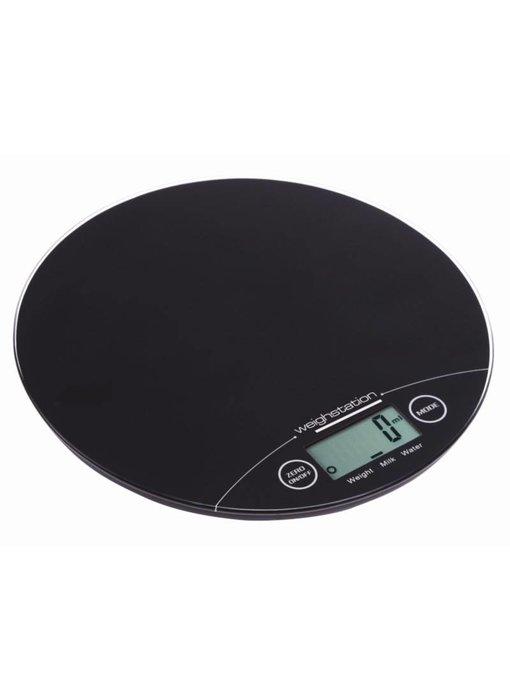 Weighstation Weighstation elektronische ronde weegschaal 5kg