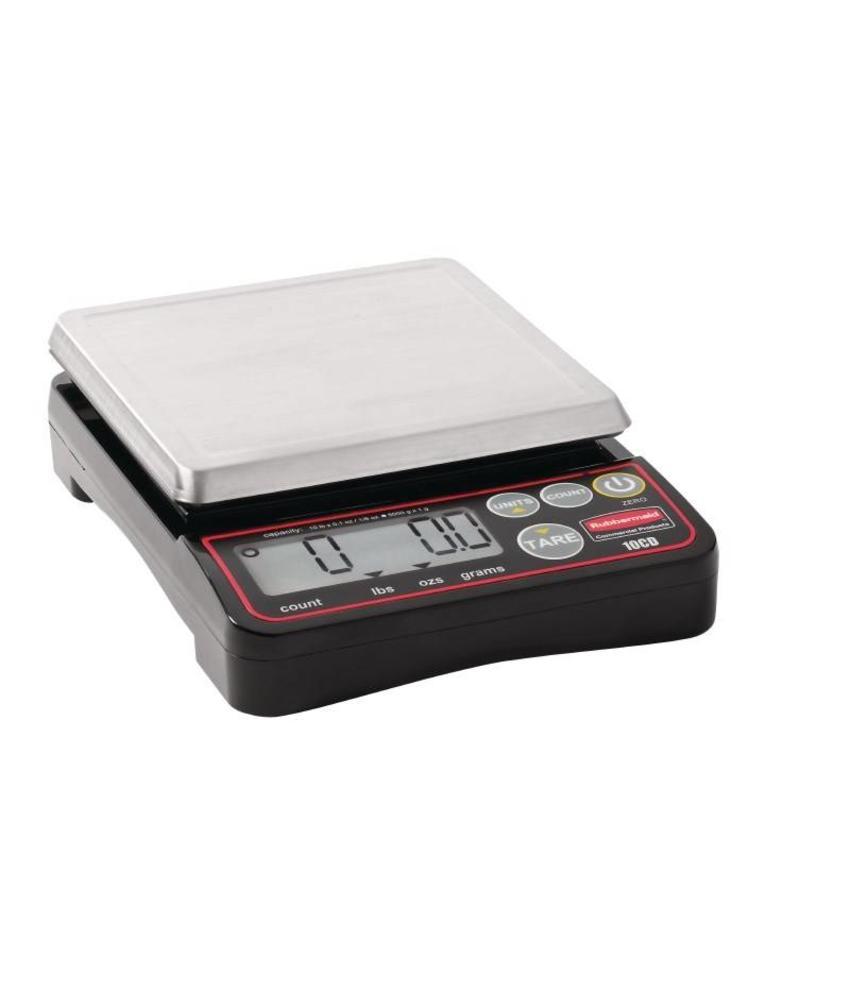 Rubbermaid Rubbermaid compacte digitale weegschaal 5kg