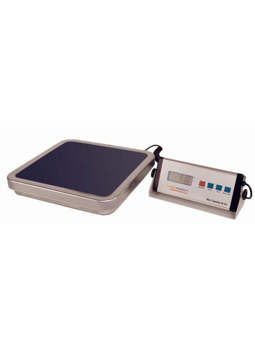 Weighstation Weighstation elektronische weegschaal 30kg