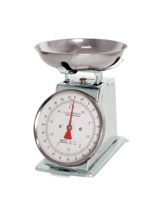 Weighstation Weighstation grote keukenweegschaal 5kg