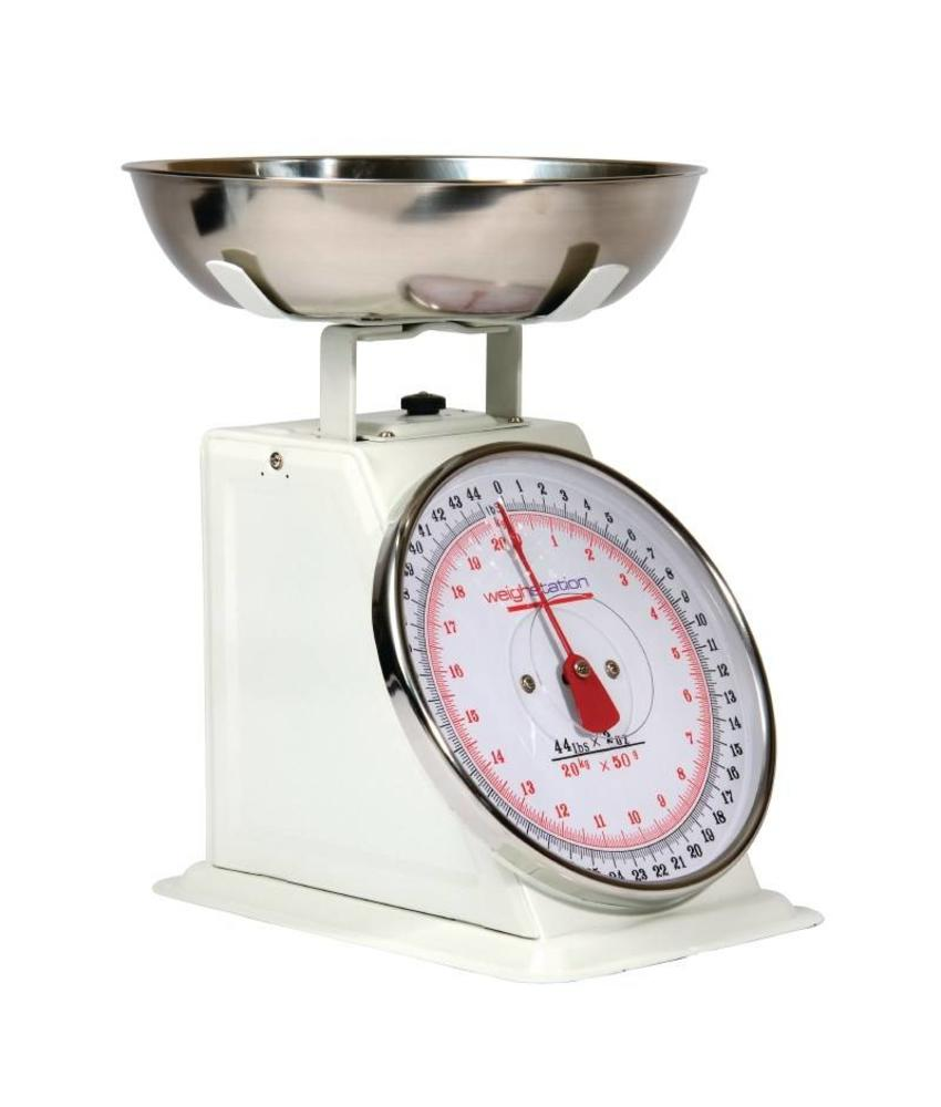 Weighstation Weighstation keukenweegschaal 20kg