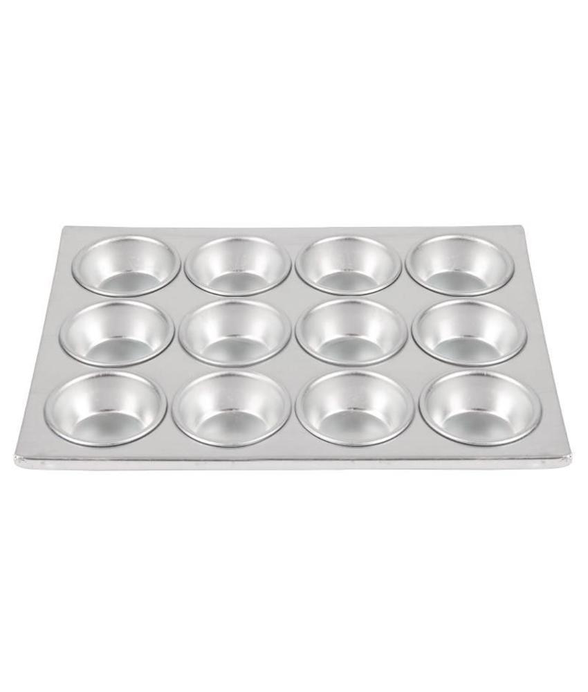 Vogue Vogue aluminium bakvorm 12 muffins