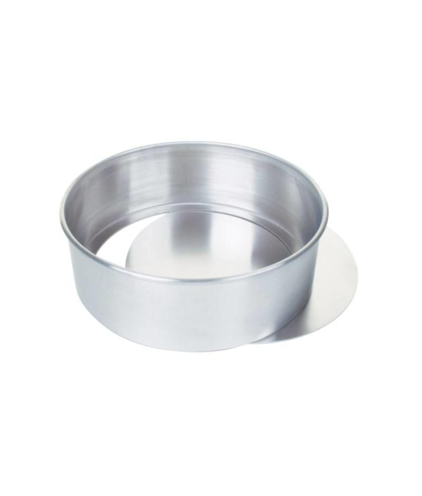 Aluminium bakvorm met uitneembare bodem 25,5cm