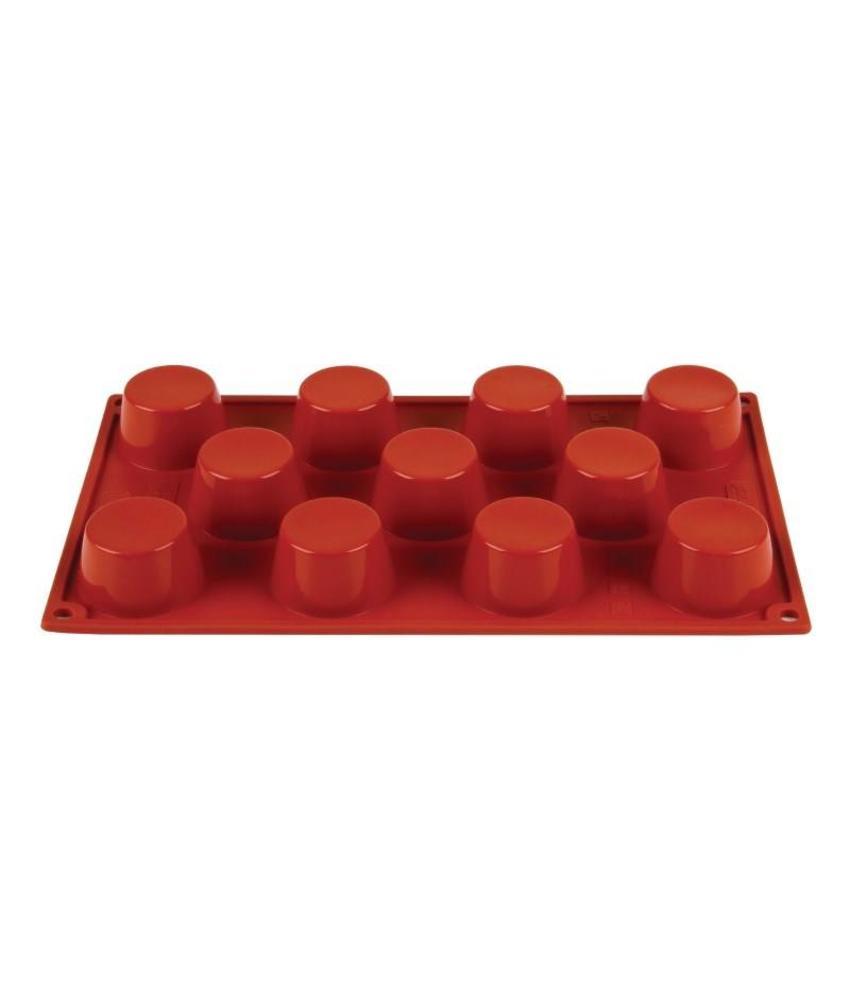 PAVONI ITALIA Pavoni Formaflex siliconen bakvorm 11 mini-muffins