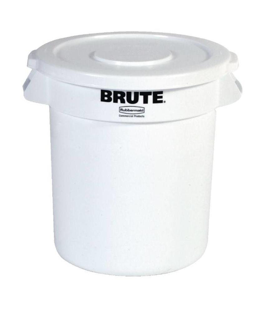 Rubbermaid Rubbermaid Brute ronde container wit 121,1L