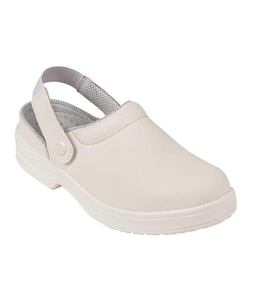 Lites Safety Footwear Unisex veiligheidsklompen wit