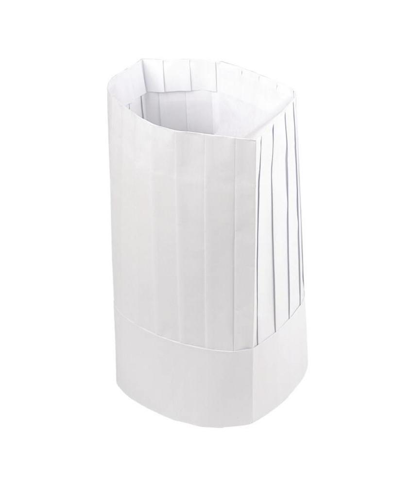Plastico disposable koksmuts 50 stuks
