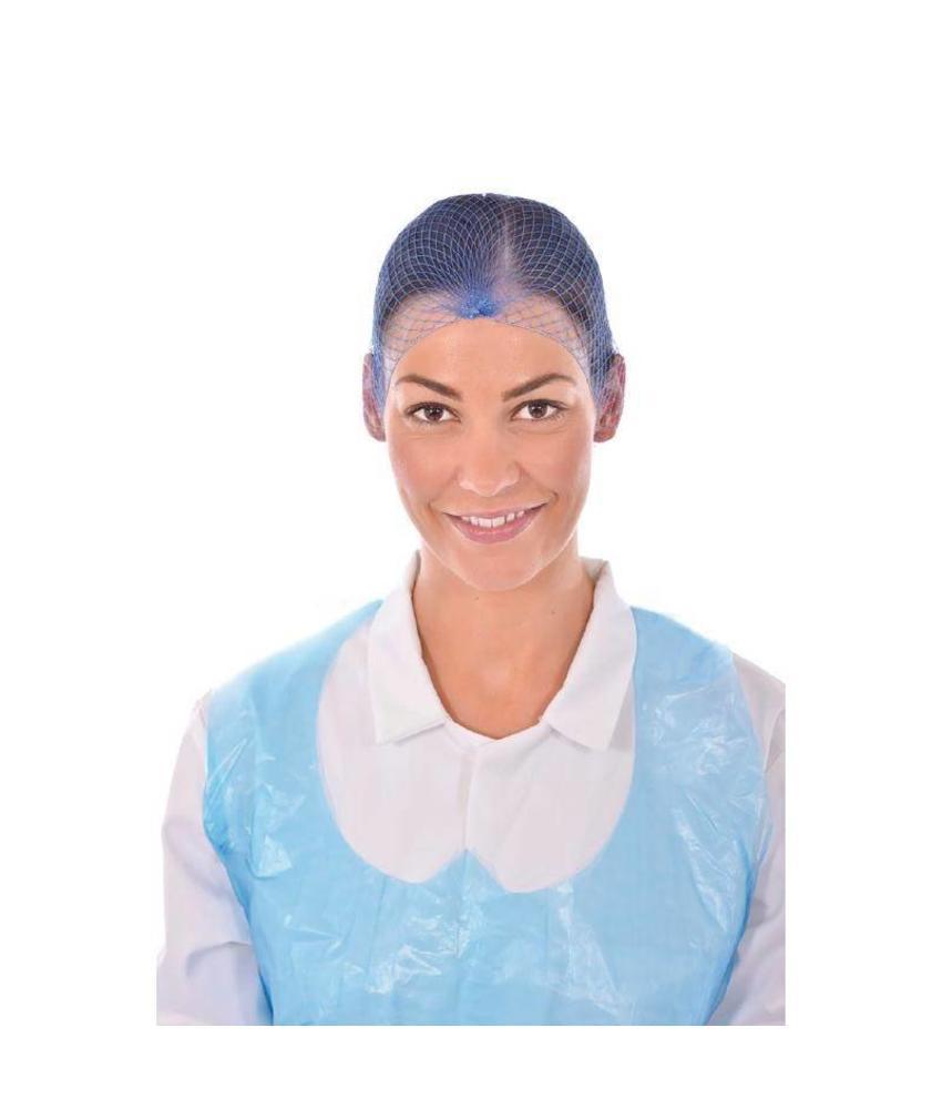 Haarnet blauw 50 stuks