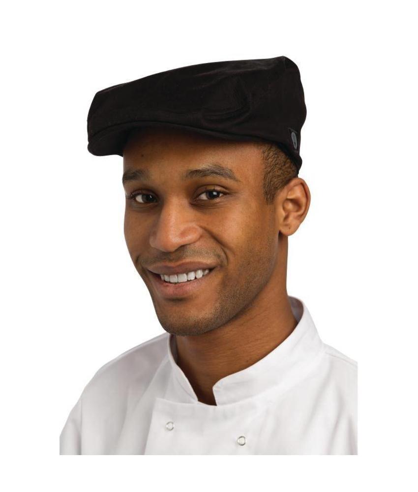 Chef Works Chef Works stijlvolle pet zwart M