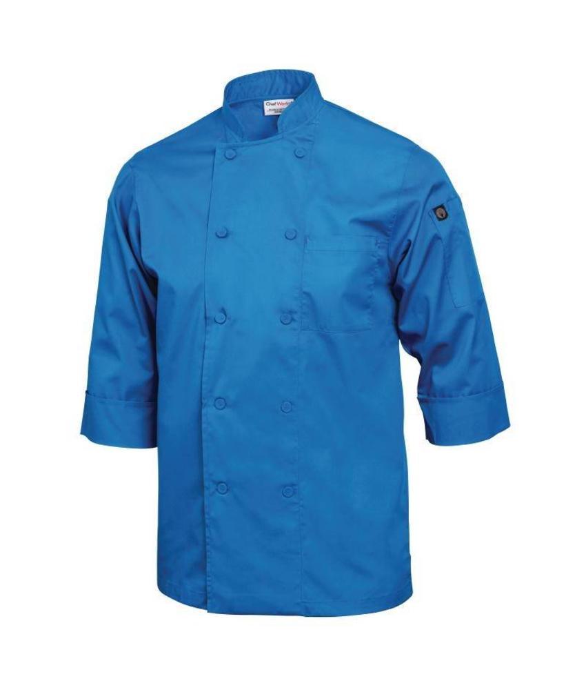 Chef Works gekleurde Lite koksbuis blauw