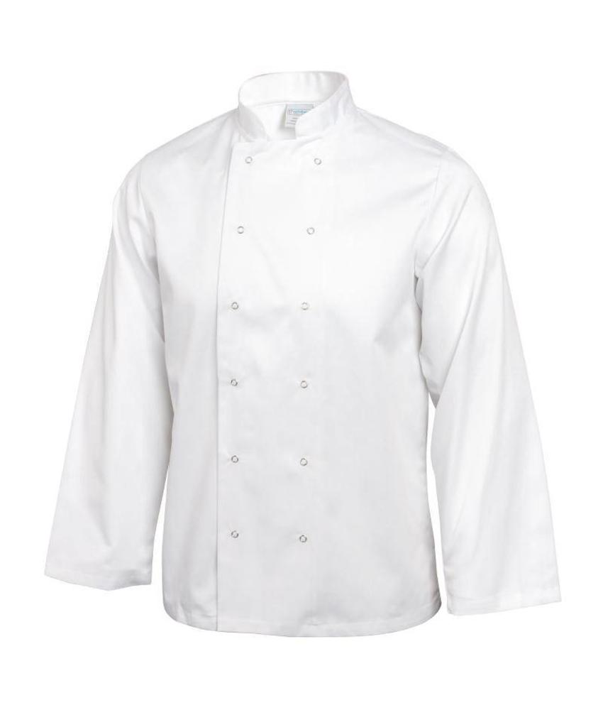 Whites Chefs Clothing Vegas koksbuis lange mouw wit