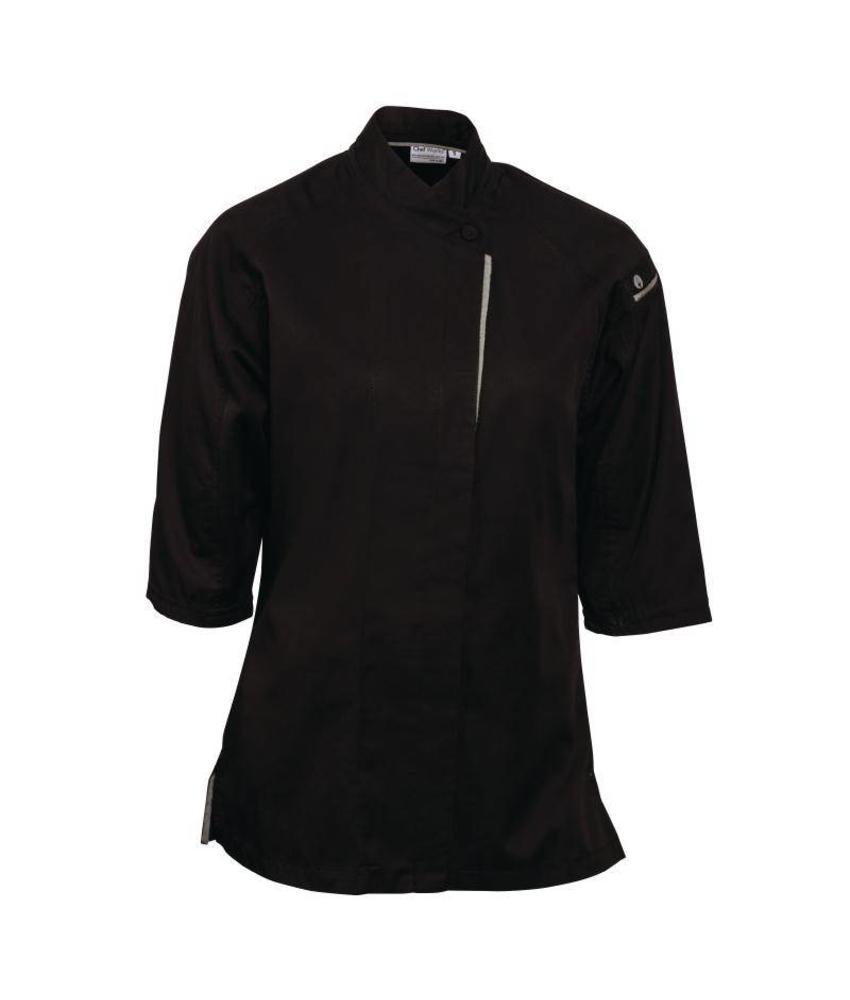 Chef Works Verona Cool Vent dames koksbuis zwart