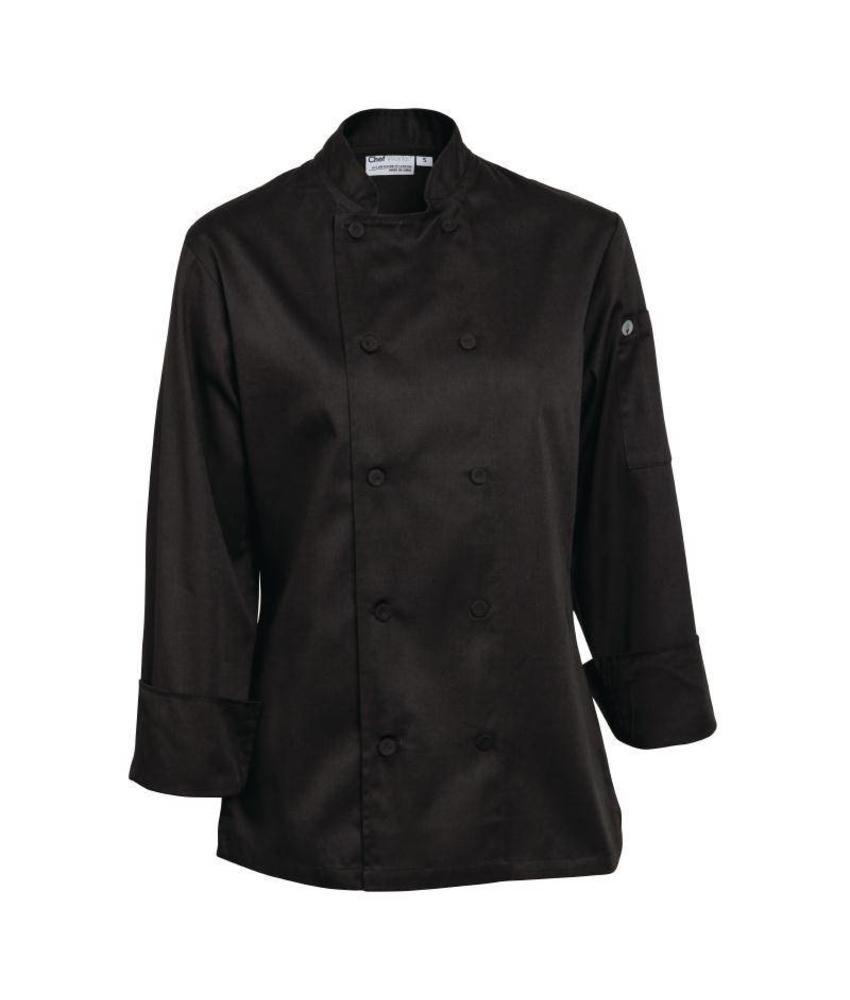 Chef Works Damesbuis Marbella zwart