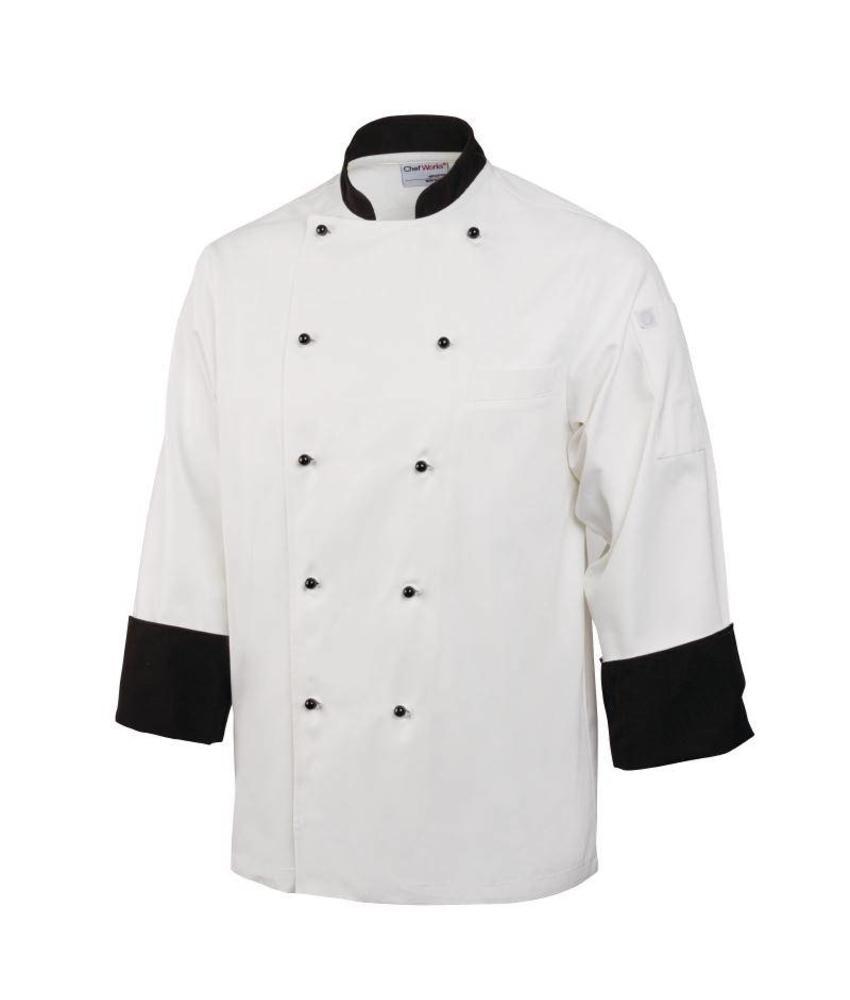 Chef Works koksbuis Paris wit