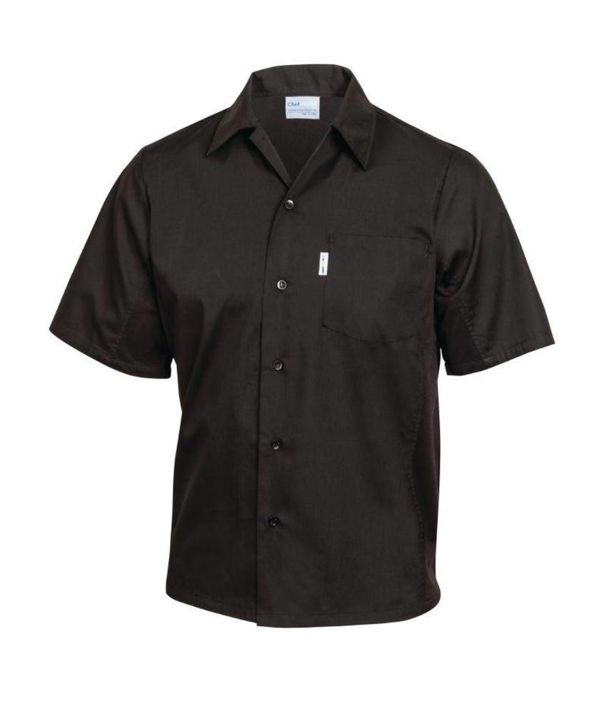 Chef Works Coolvent chef shirt zwart