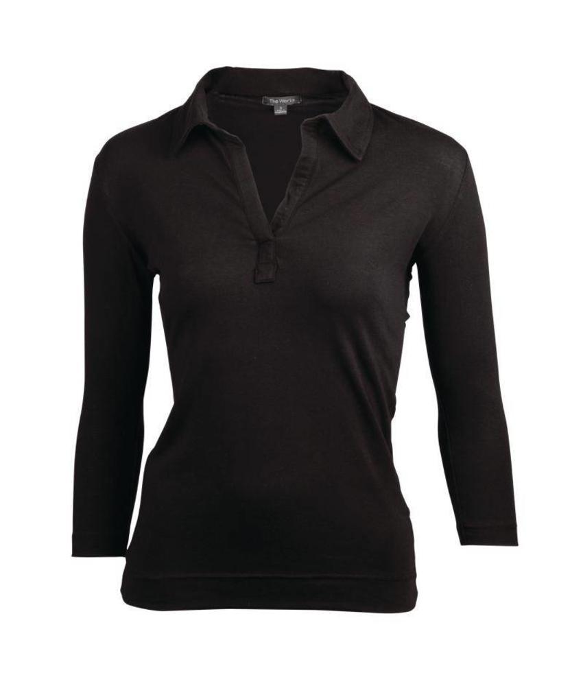 Uniform Works Dames shirt zwart