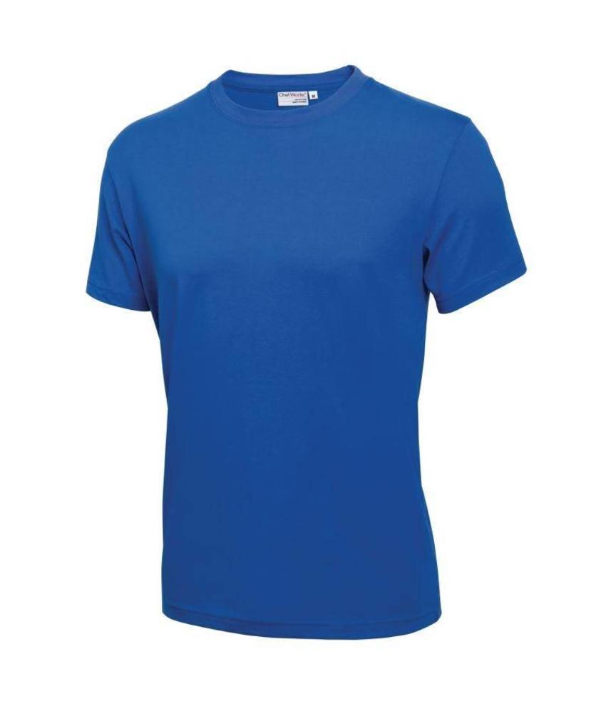 Chef Works unisex T-Shirt blauw