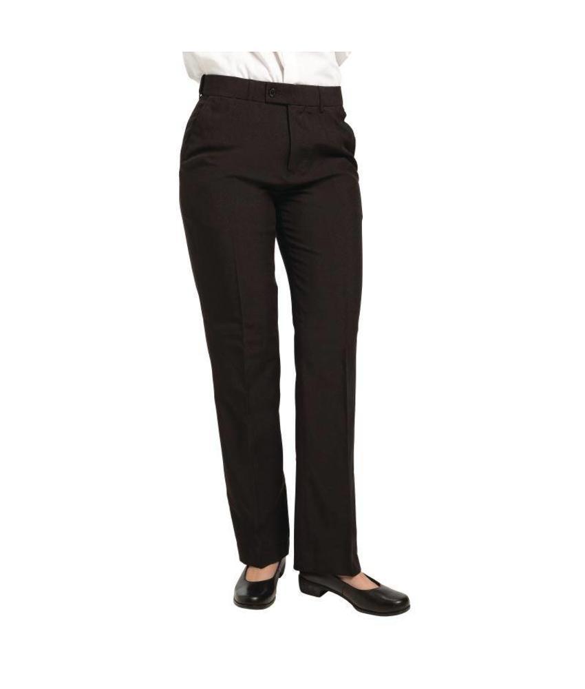 Dames pantalon zwart