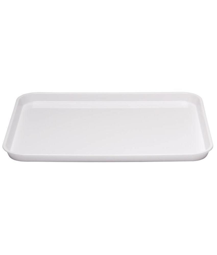 Slagvaste ABS voedselschaal 25 x 35cm