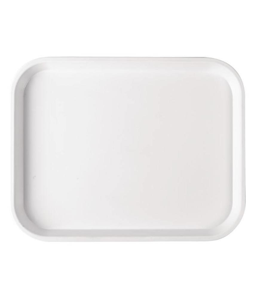 Polystyreen voedselschaal 25x35cm