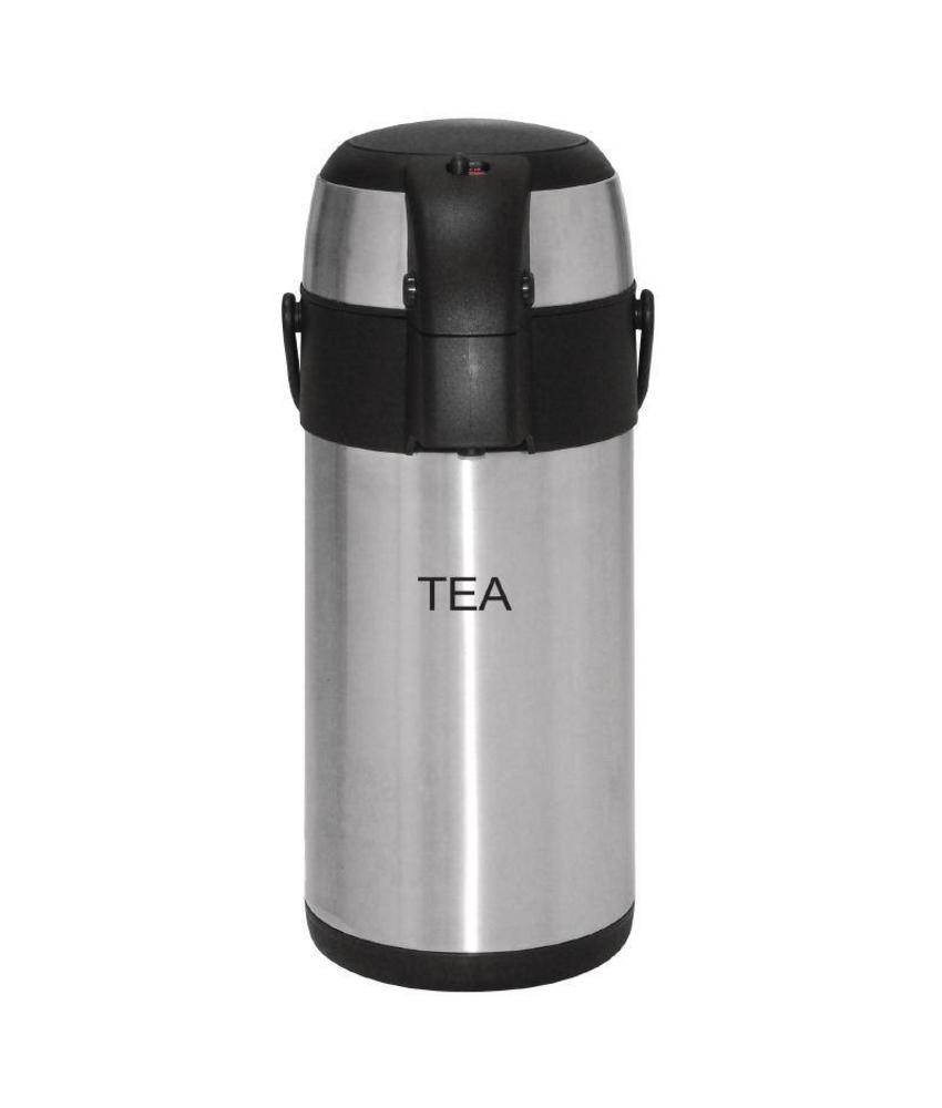 Olympia Olympia thermoskan met pomp 3 liter Tea