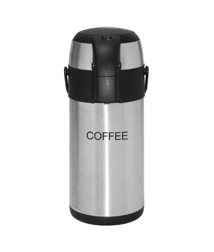Olympia Olympia thermoskan met pomp 3 liter Coffee