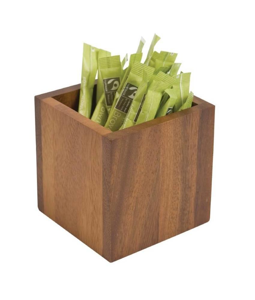 T&G Woodware vierkant tafelbakje