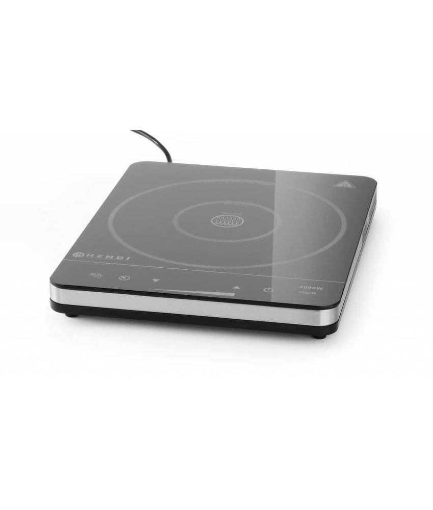 Hendi Inductiekookplaat model 2000 touch-control  230V/50Hz 2000W