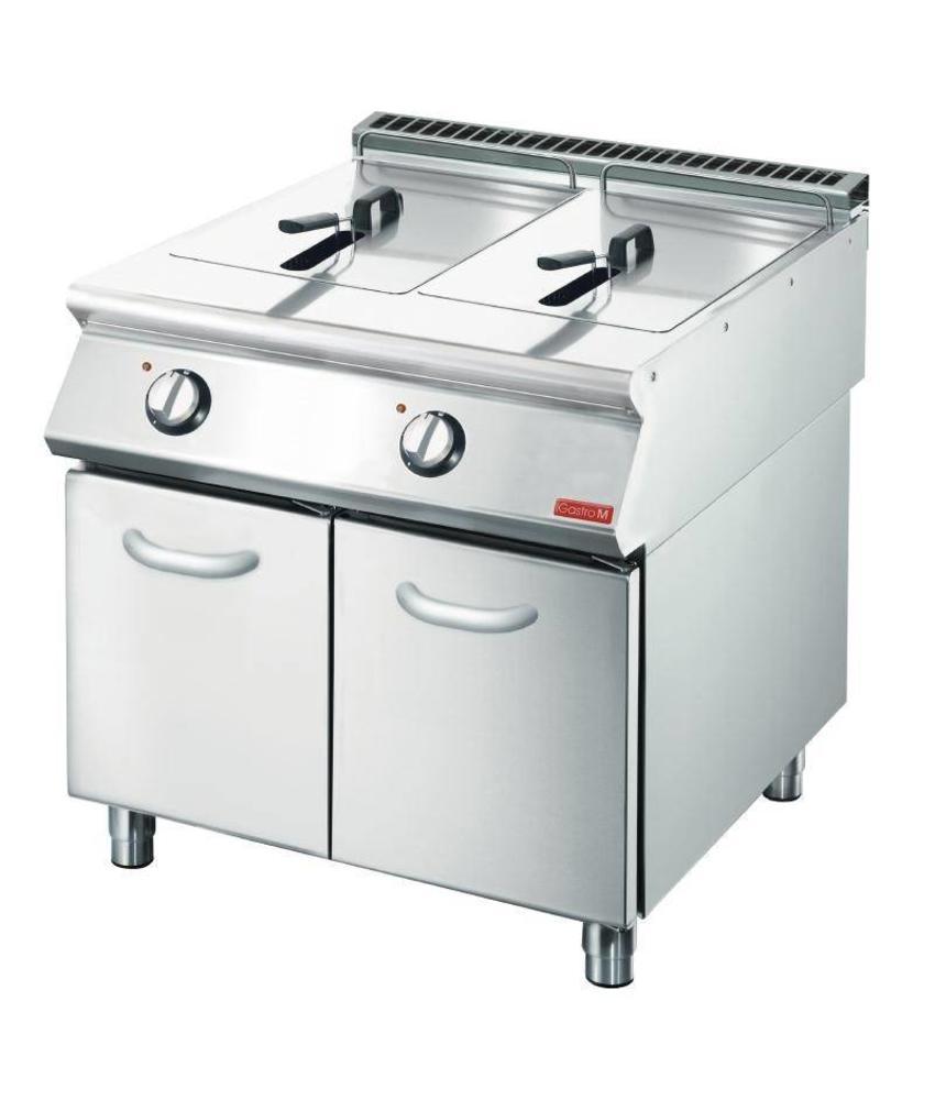 GASTRO-M Gastro M elektrische friteuse 2x 10L 70/80 FRE