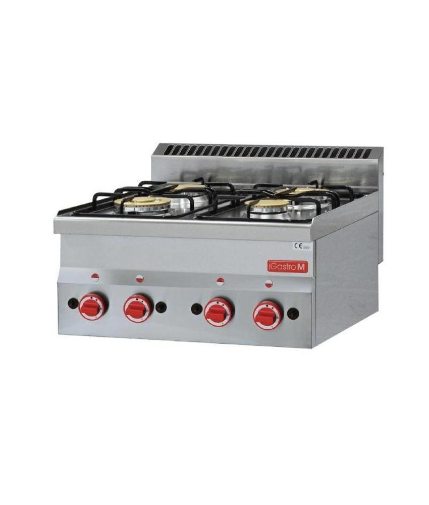 GASTRO-M Gastro M gaskooktoestel 60/60 PCG