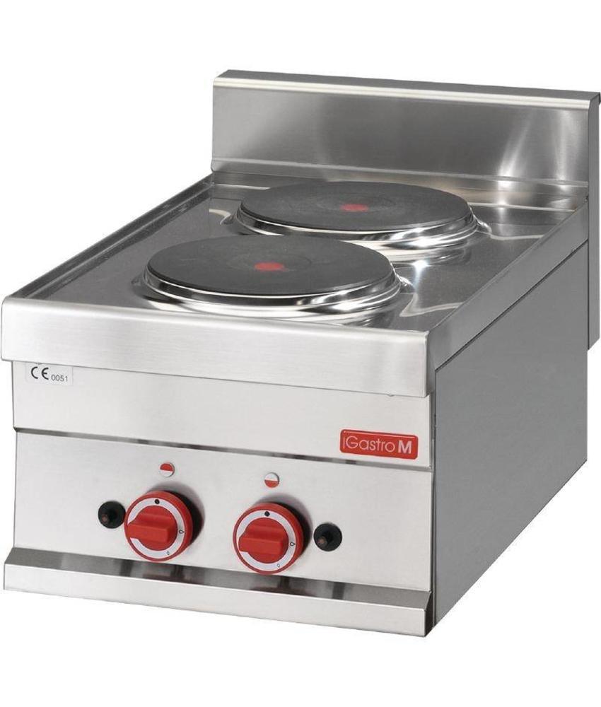 GASTRO-M Gastro M 600 elektrische kookplaat 60/30 PCE