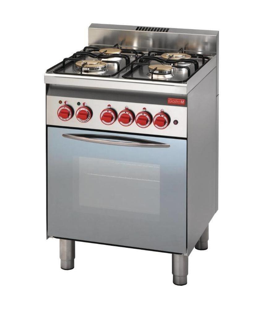 GASTRO-M Gastro M 600 gasfornuis 60/60 CFG
