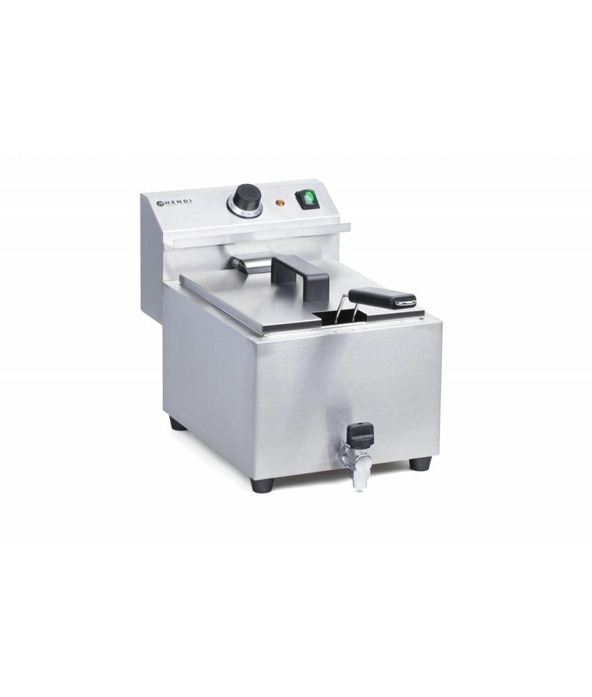 Hendi Friteuse MasterCook 8 l met kraan 230V 3500W 515x300x(H)345